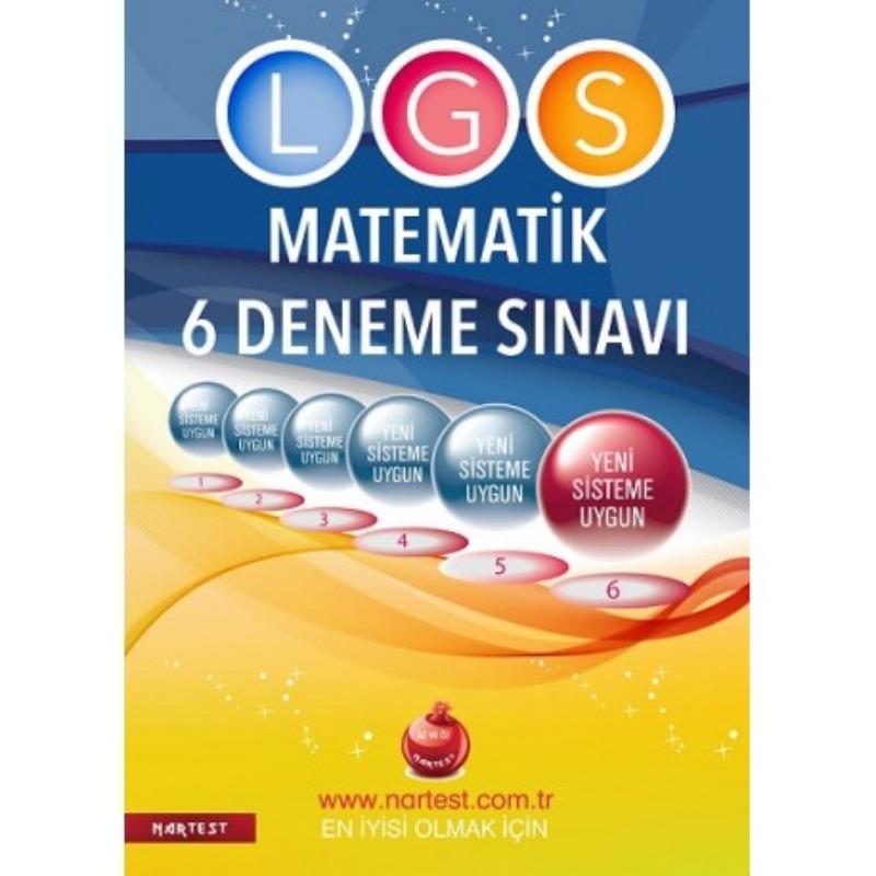 8. Sınıf Pısa, Tımss, Kanguru Lgs Matematik 6 Deneme Sınavı Fen Liselerine Hazırlık