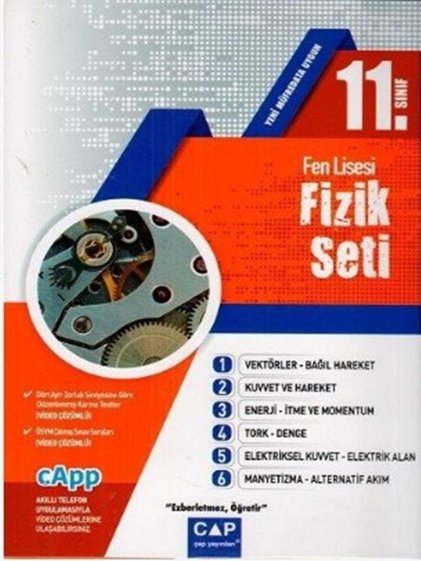 Çap Yayınları 11. Sınıf Fen Lisesi Fizik Seti