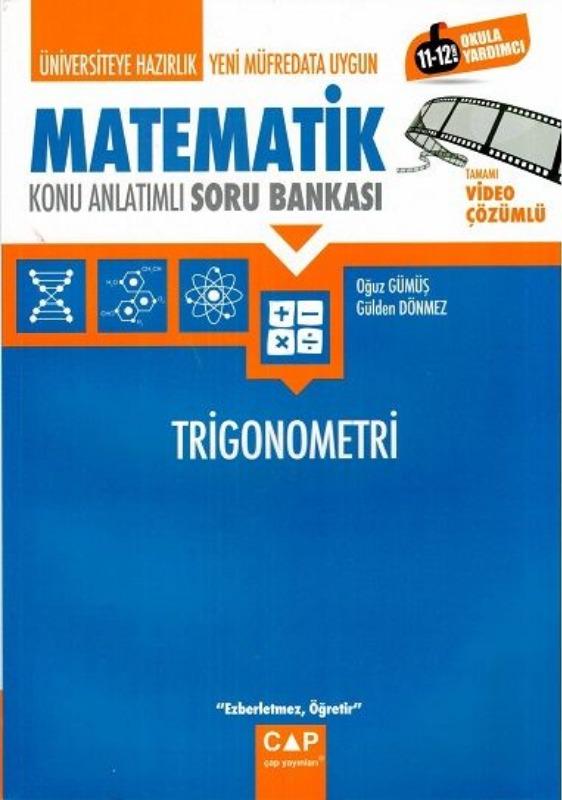 Çap Yayinlari Üniversiteye Hazirlik Matematik Trigonometri Konu Anlatimli  Soru Bankasi