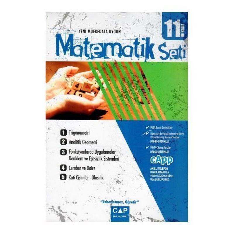 Çap Yayınları 11. Sınıf Anadolu Lisesi Matematik Seti