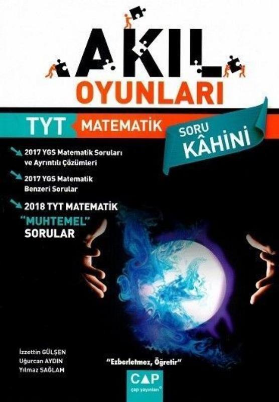Çap Yayınları YKS 1. Oturum TYT Akıl Oyunları Matematik Soru Bankası