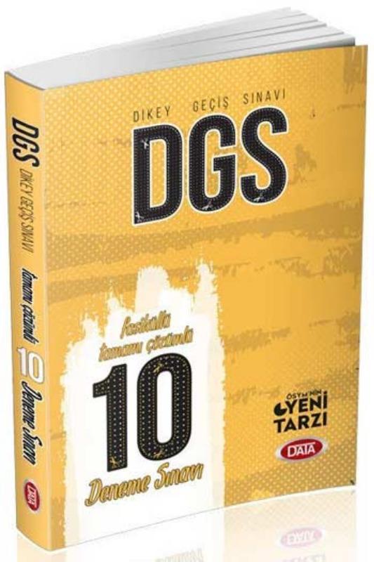 Data Yayınları DGS Tamamı Çözümlü 10 Fasikül Deneme Sınavı