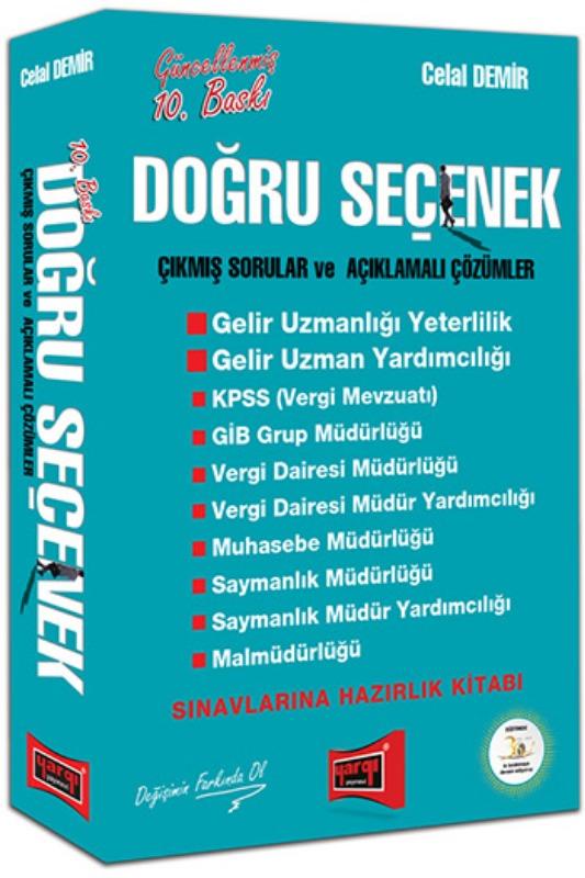 Yargı Yayınları Doğru Seçenek Çıkmış Sorular ve Açıklamalı Çözümler 10. Baskı
