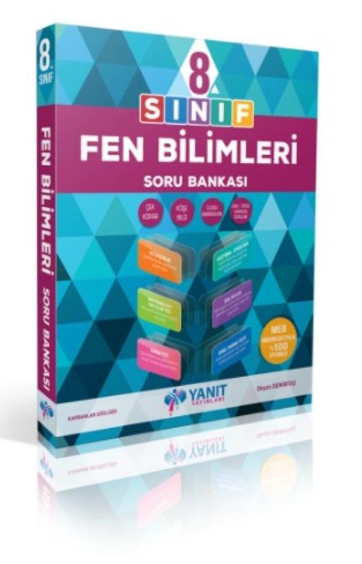 8.sınıf fen bilimleri soru bankası Yanıt Yayınları