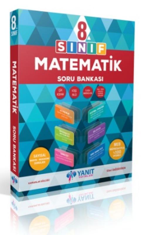 8. Sınıf Matematik Soru Bankası Yanıt Yayınları