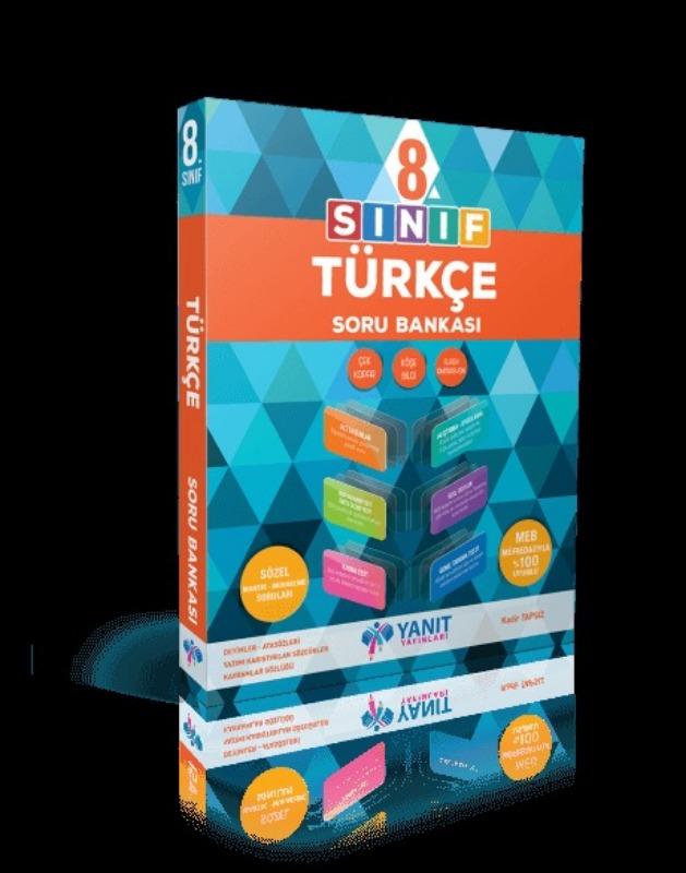 8.sınıf Türkçe Soru Bankası Yanıt  Yayınları
