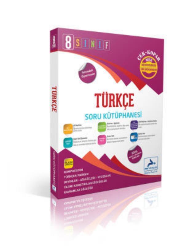 8.Sınıf Türkçe Soru Kütüphanesi Paraf Yayınları
