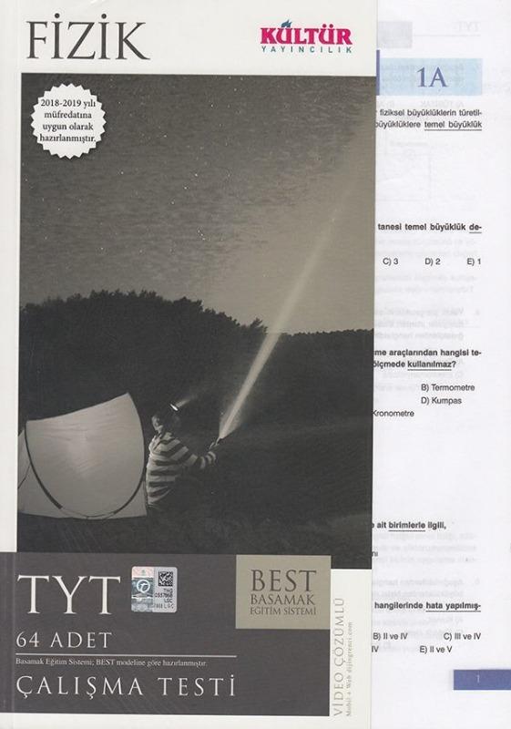 Kültür Yayıncılık TYT Fizik BEST Çalışma Testi