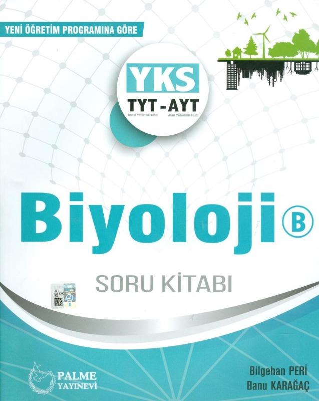 Palme Yayınları TYT AYT Biyoloji B Soru Kitabı