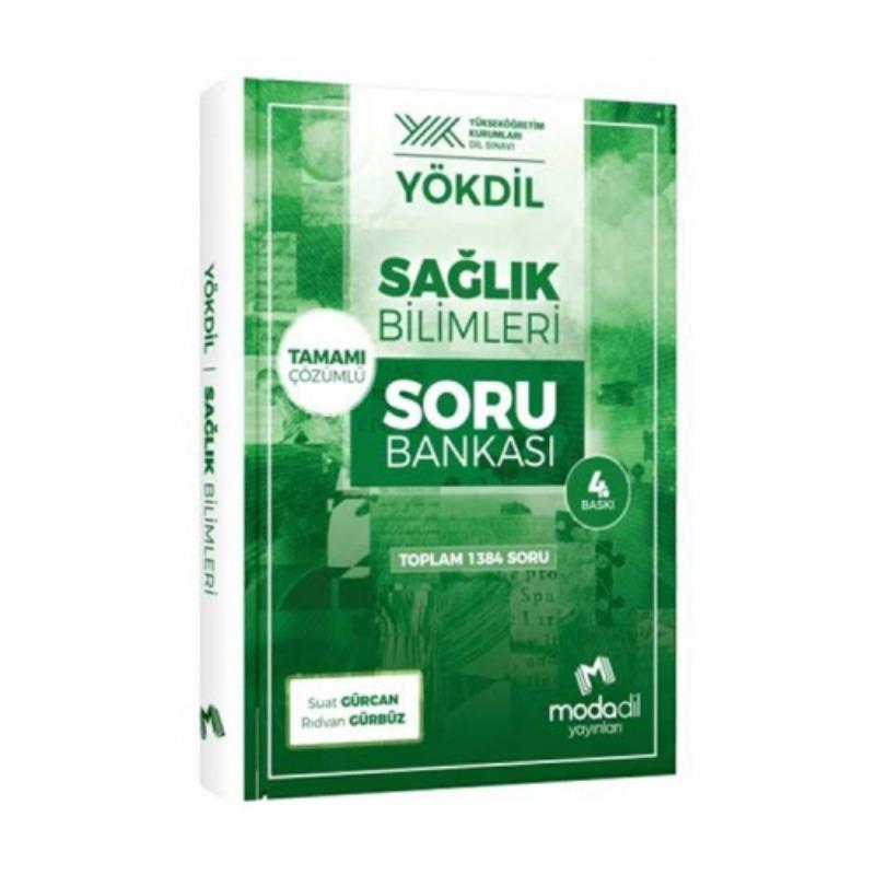 Modadil Yayınları YÖKDİL Sağlık Bilimleri Tamamı Çözümlü Soru Bankası