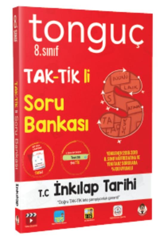 Tonguç Akademi 8. Sinif Inkilap Tarihi ve Atatürkçülük Taktikli Soru Bankasi