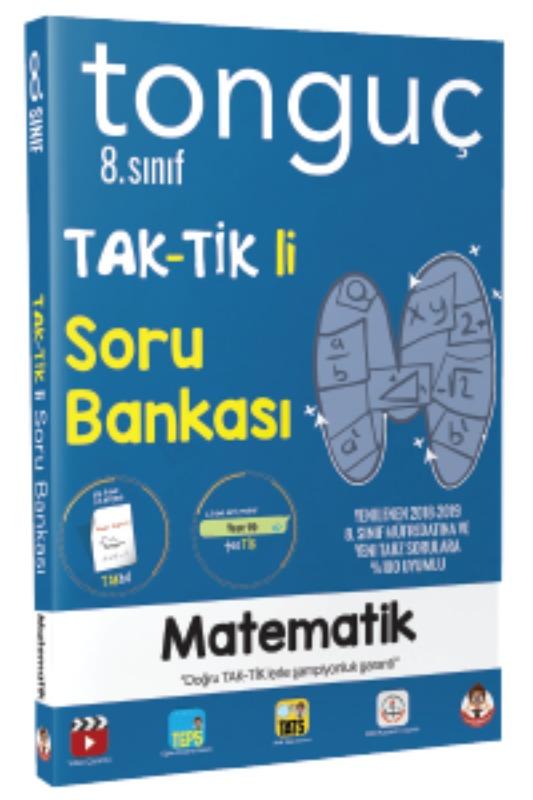 Tonguç Akademi 8. Sinif Matematik Taktikli Soru Bankasi