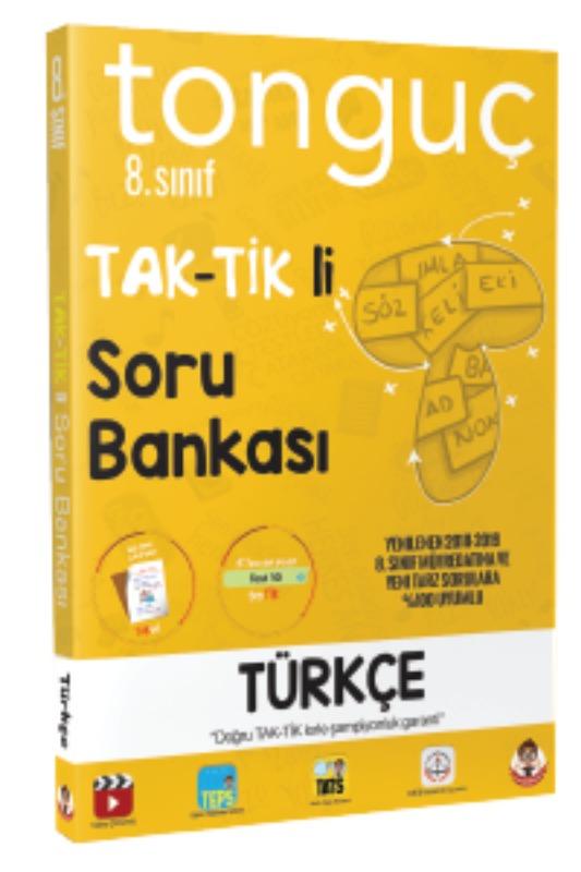 Tonguç Akademi 8. Sinif Türkçe Taktikli Soru Bankasi