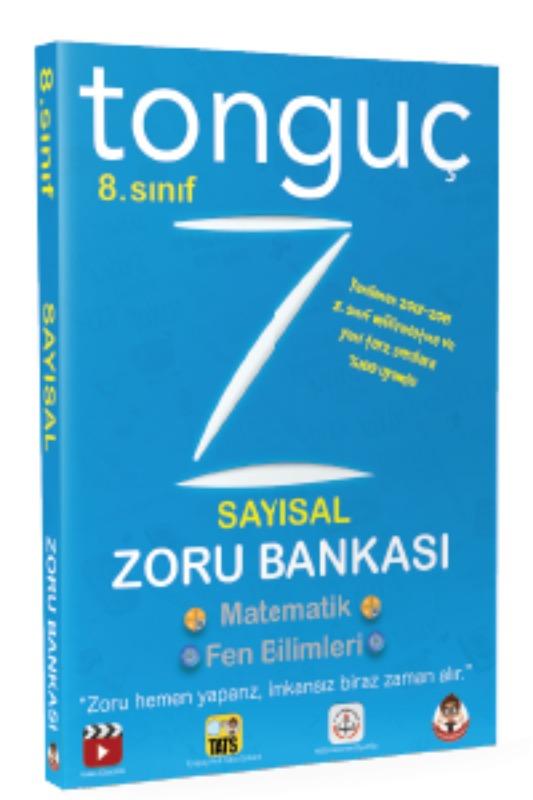 Tonguç Akademi 8. Sinif Sayısal  Tüm Dersler Soru Bankasi