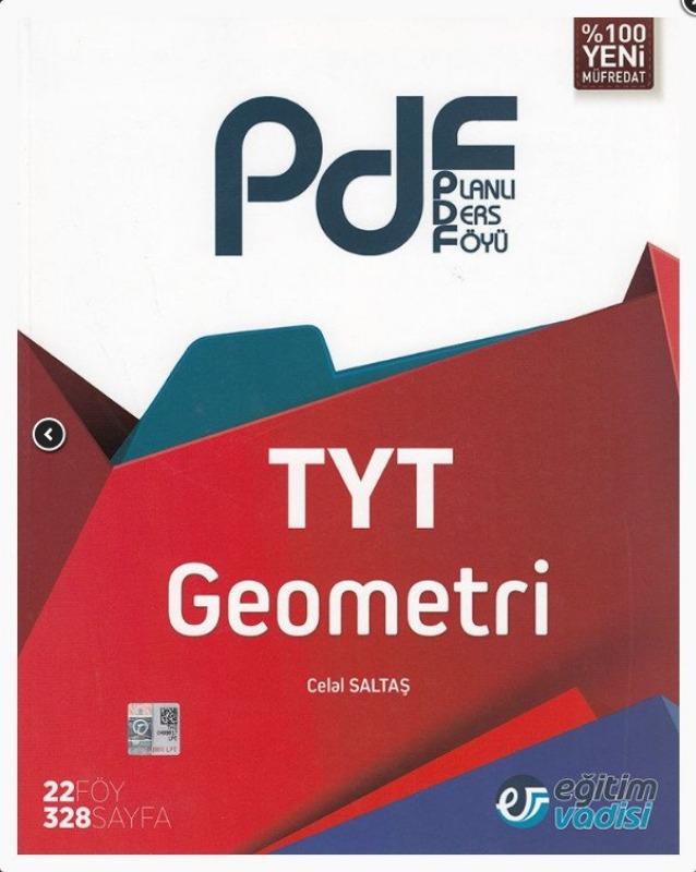 Eğitim Vadisi TYT Geometri PDF Planlı Ders Föyü