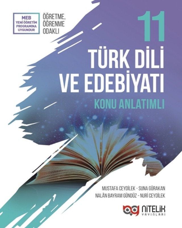 Nitelik Yayinlari 11. Sinif Türk Edebiyati Konu Anlatimli