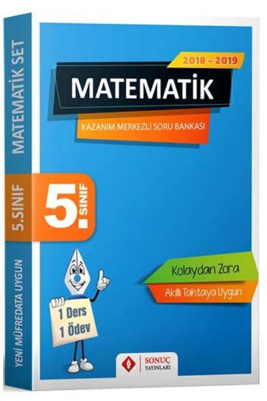 Sonuç Yayınları 5. Sınıf Matematik Kazanım Merkezli Soru Bankası Seti