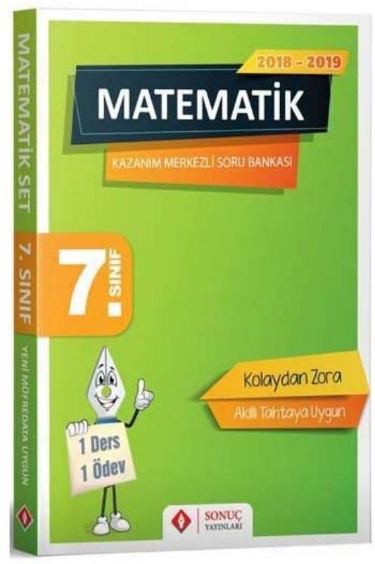 Sonuç Yayınları 7. Sınıf Matematik Kazanım Merkezli Soru Bankası Seti