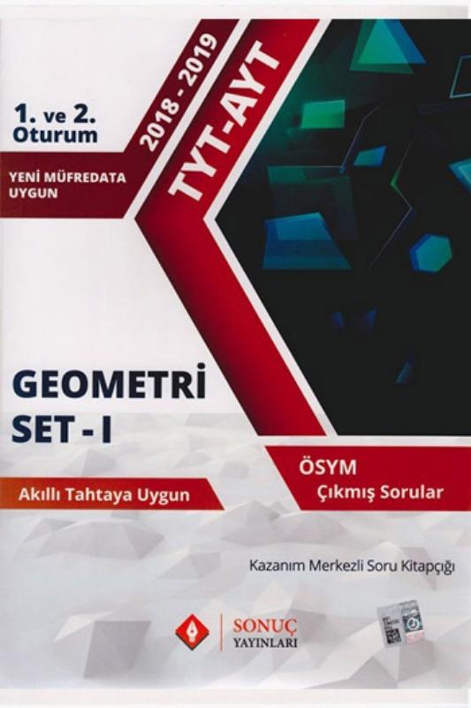 Sonuç Yayınları TYT AYT Geometri Set 1 Kazanım Merkezli Soru Bankası