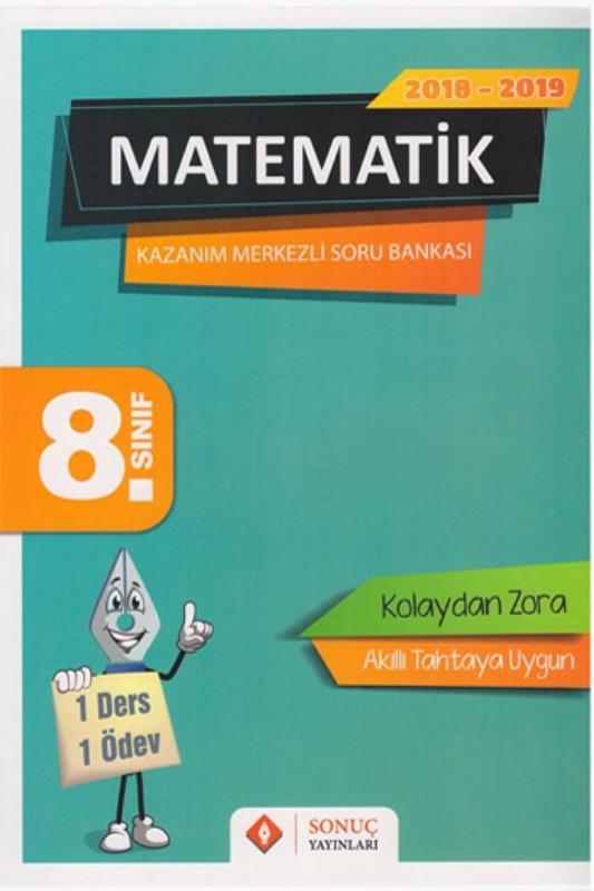 Sonuç Yayınları 8. Sınıf Matematik Kazanım Merkezli Soru Bankası