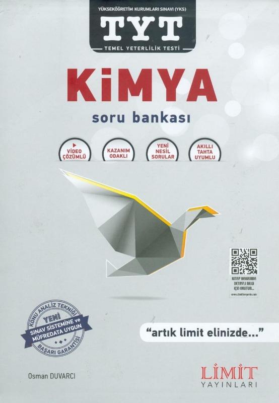 TYT Kimya Soru Bankası Limit Yayınları