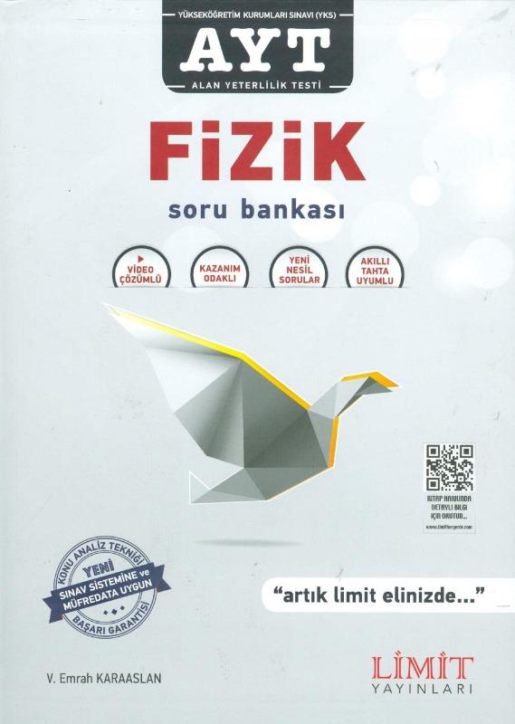 AYT Fizik Soru Bankası Limit Yayınları