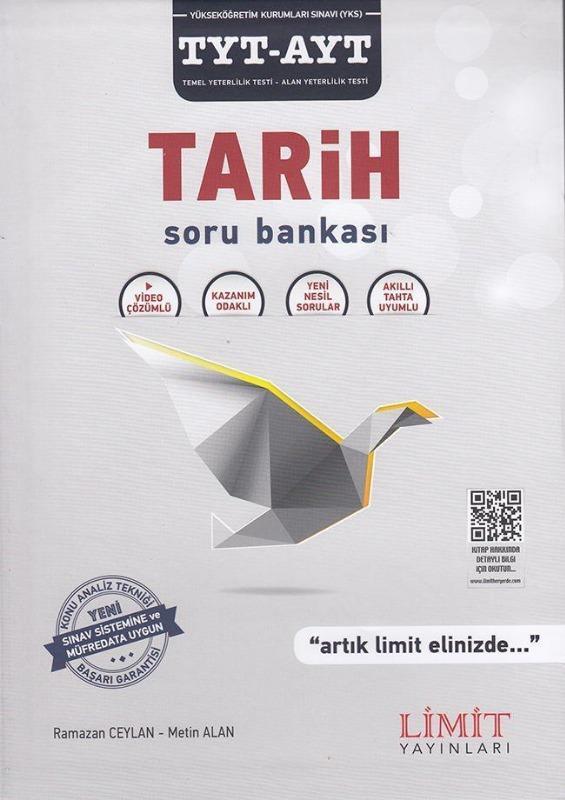 TYT AYT Tarih Soru Bankası Limit Yayınları