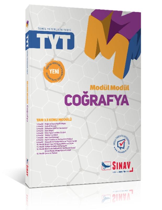 Sınav Yayınları TYT Coğrafya Modül Modül Konu Anlatımlı