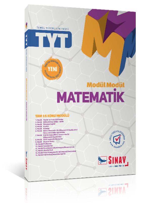 Sınav Yayınları TYT Matematik Modül Modül Konu Anlatımlı