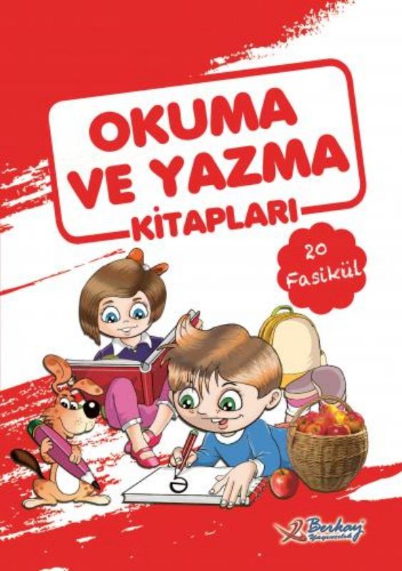 1. Sınıf Berkay İlk Okuma Yazma Seti  DİK TEMEL HARFLERLE Berkay Yayınları