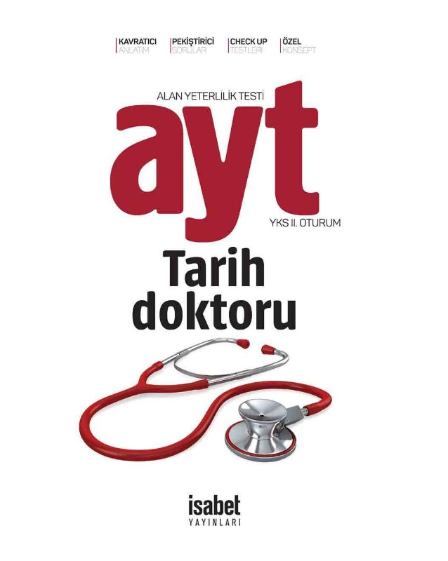 AYT Tarih Doktoru İsabet Yayınları