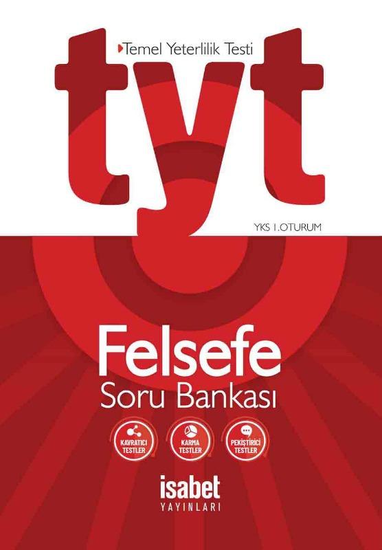 TYT Felsefe Soru Bankası İsabet Yayınları