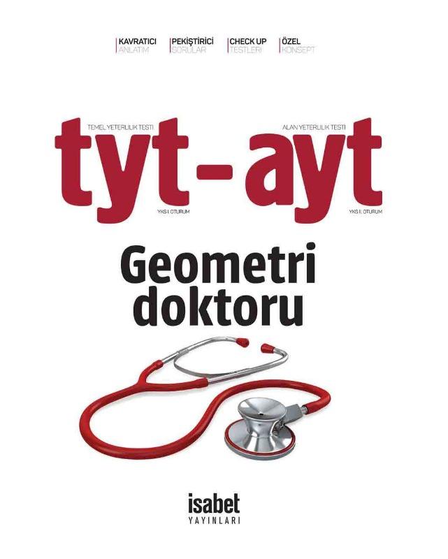 TYT AYT Geometri Doktoru İsabet Yayınları