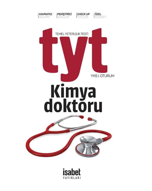 TYT Kimya Doktoru İsabet Yayınları