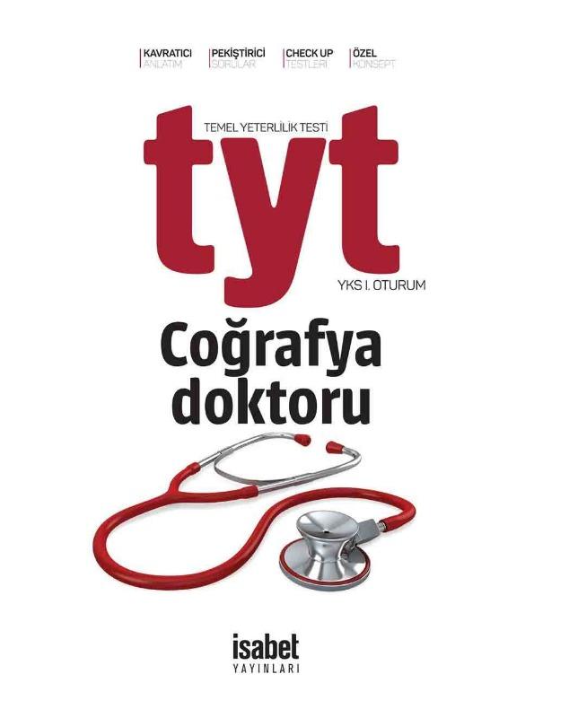 TYT Coğrafya Doktoru İsabet Yayınları