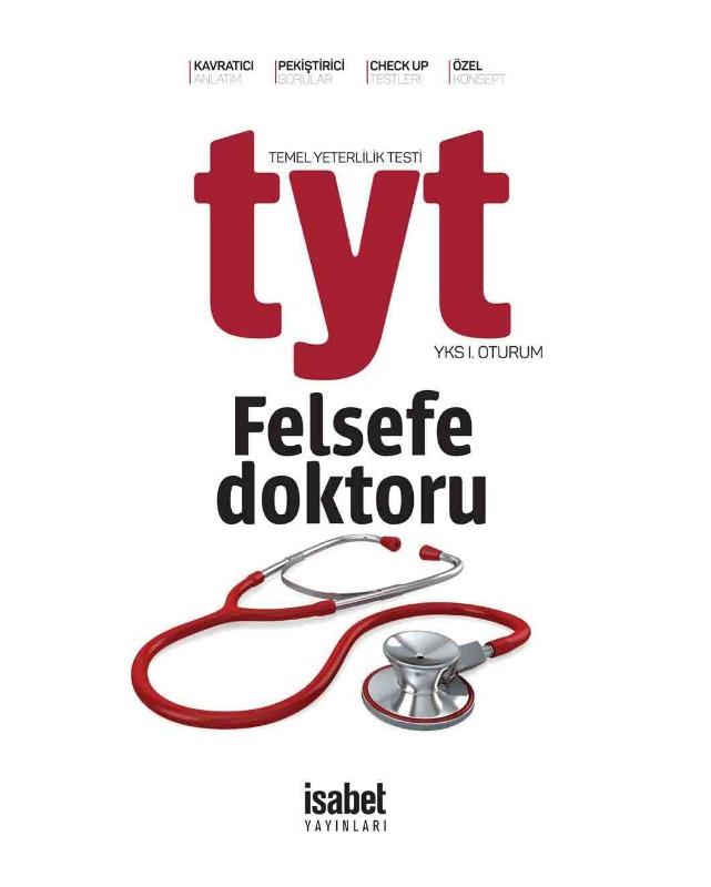 TYT Felsefe Doktoru İsabet Yayınları