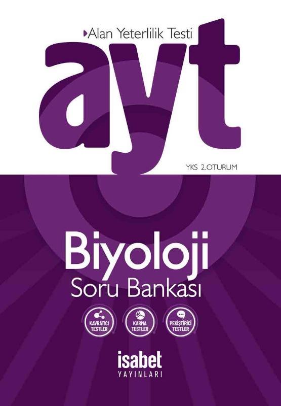 AYT Biyoloji Soru Bankası İsabet Yayınları