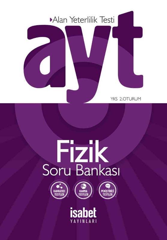 AYT Fizik Soru Bankası İsabet Yayınları