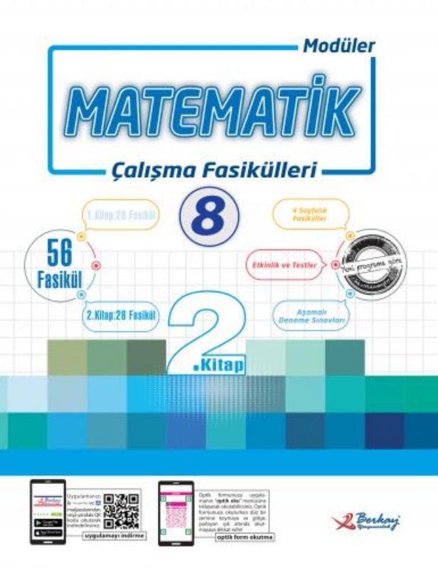 8.Sınıf Matematik Çalışma Fasikülleri Berkay Yayınları