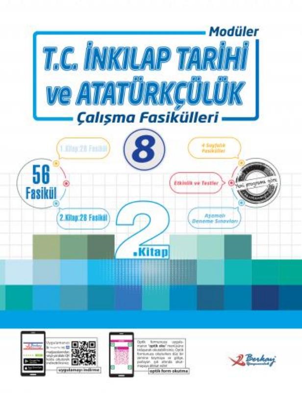 8.Sınıf Sosyal Bilgiler Çalışma Fasikülleri Berkay Yayınları