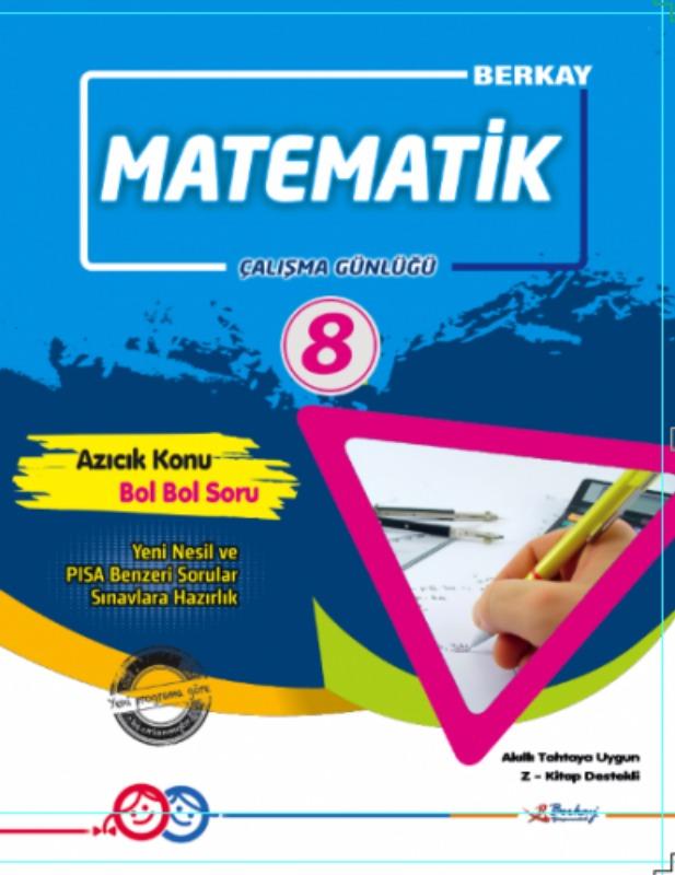 8.Sınıf Matematik Çalışma Günlüğü Berkay Yayınları