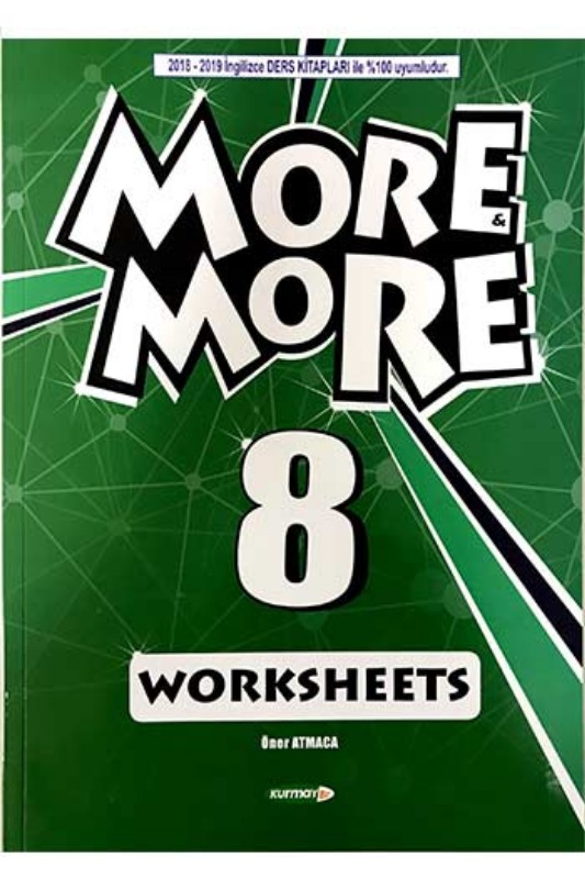 Kurmay ELT More and More 8 Worksheets