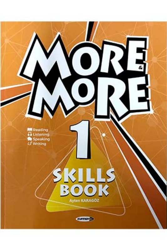 Kurmay ELT More and More Skills Book 1