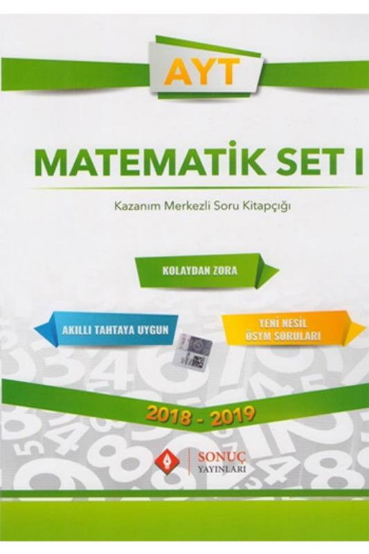 Sonuç Yayınları AYT Matematik Set 1 Kazanım Merkezli Soru Bankası