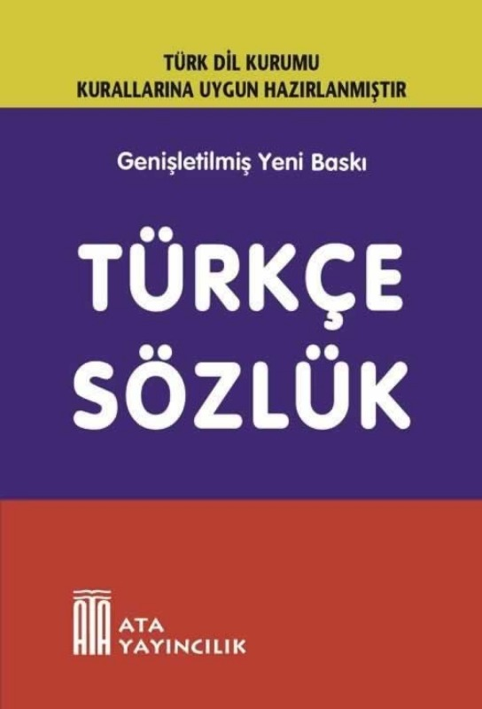 Türkçe Sözlük (Sert Kapak) Ata Yayınları