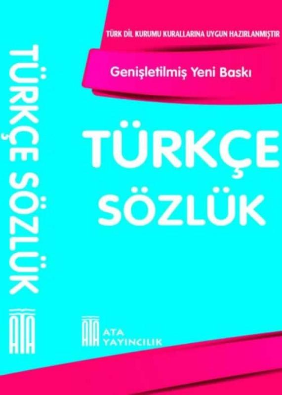 Türkçe Sözlük (Karton Kapak) Ata Yayınları