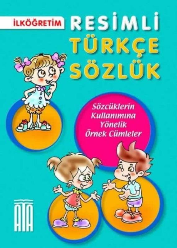 Türkçe Resimli Sözlük (Karton Kapak) Ata Yayınları