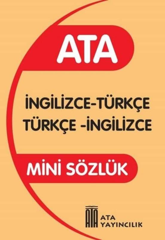 Mini İngilizce Sözlük (Plastik Kapak) Ata Yayınları