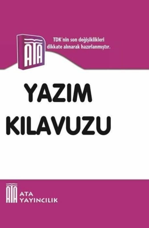Yazım Kılavuzu (Sert Kapak) Ata Yayınları