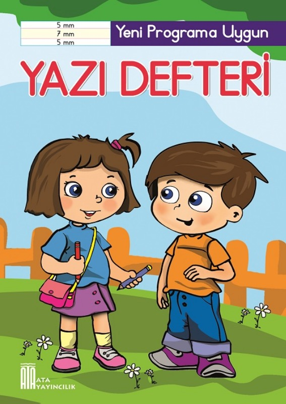 1. Sınıf Yazı Defteri 5-7-5 mm Büyük Boy Ata Yayınları